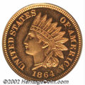 Proof Indian Cents: , 1864 1C Copper-Nickel PR65 Deep Cameo PCGS. We are ...
