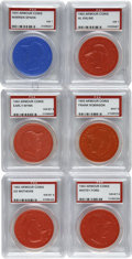 Baseball Collectibles:Others, 1955-60 Armour Coin PSA Lot w/Kaline, Robinson, Ford (20).Offeredis a lot of 20 Armour Coins from 1955-1960. Highlights inc...