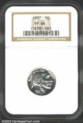 Proof Buffalo Nickels: , 1937 5C PR66 NGC. A brilliant and nicely struck Gem that ...