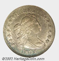 Early Dimes: , 1805 10C 4 Berries MS62 NGC. JR-2, R.2. Pale silver ...