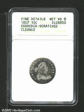 Early Dimes: , 1807 10C--Corroded, Scratched, Cleaned--ANACS. Fine Details,...