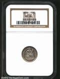 Seated Dimes: , 1856 10C Large Date MS64 NGC. The Large Date is priced ...