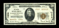National Bank Notes:Kentucky, Barbourville, KY - $20 1929 Ty. 2 The Union NB Ch. # 13906. Apleasing high grade example from this tougher Barbourville...