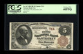 Nantucket, MA - $5 1882 Brown Back Fr. 467 The Pacific NB Ch. # 714 An attractive $5 Brown Back from this sought after...