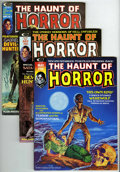Bronze Age (1970-1979):Horror, The Haunt of Horror #1-5 Group (Curtis , 1974-75) Condition:Average VF+.... (Total: 5)