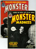 Bronze Age (1970-1979):Horror, Monster Madness #1 and 2 Group (Marvel, 1972-73) Condition: AverageVF.... (Total: 2)
