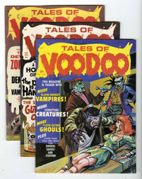 Tales From the Tomb And Other Horror-Related Titles Group (Eerie Publications, 1970-71) Condition: Average VF.... (Total...