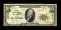 National Bank Notes:Virginia, Bassett, VA - $10 1929 Ty. 1 The First NB Ch. # 11976. This onebank town in Henry County issued more than $1 million in...