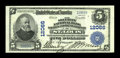 National Bank Notes:Missouri, Saint Louis, MO - $5 1902 Plain Back Fr. 608 The Security NBSavings & TC Ch. # 12066. This is a considerably scarcer St...