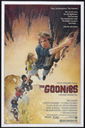 "Movie Posters:Adventure, The Goonies (Warner Brothers, 1985). One Sheet (27"" X 41"").Adventure Comedy. Starring Sean Astin, Josh Brolin, Corey Feldma..."