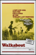 "Movie Posters:Adventure, Walkabout (20th Century Fox, 1971). One Sheet (27"" X 41"") Style B.Adventure. Starring Jenny Agutter, Lucien John and David ..."
