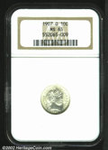 Barber Dimes: , 1907-O 10C MS65 NGC. A lustrous and brilliant late O-mint ...