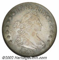 1806 25C AU58 NGC. B-2, R.4. Pale silver surfaces that are quite lustrous for the grade. A few touches of wear, most not...