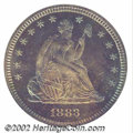 Proof Seated Quarters: , 1883 25C PR67 PCGS. We have no doubt in our minds that ...
