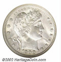 Barber Quarters: , 1900-O 25C MS66 NGC. Whereas the other MS66 1900-O ...