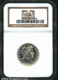 Proof Barber Quarters: , 1904 25C PR66 NGC. The 1904 (9.5 million pieces produced) ...