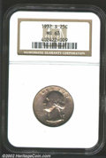 Washington Quarters: , 1932-S 25C MS63 NGC. Radiant mint luster glimmers from ...