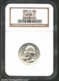 Washington Quarters: , 1936-D 25C MS65 NGC. The frosty-white surfaces are ...