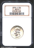 Washington Quarters: , 1938-S 25C MS67 NGC. A lightly toned and lustrous Superb ...