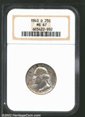 Washington Quarters: , 1940-D 25C MS67 NGC. Bright white and very lustrous, with ...
