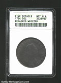 Early Half Dollars: , 1794 50C--Repaired, Whizzed--ANACS. Fine Details, Net Good ...