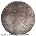 Bust Half Dollars: , 1811 50C Small 8 MS64 PCGS. O-110a, R.1. Lustrous and ...
