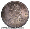 Bust Half Dollars: , 1834 50C Large Date, Small Letters MS65 NGC. O-107, R.1. ...
