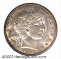 Barber Half Dollars: , 1897-O 50C MS64 PCGS. One of the lower mintage issues in ...