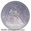 Seated Dollars: , 1842 $1 MS62 PCGS. The 1842 is one of the most available ...