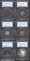 Early Proof Sets: , A High Grade, PCGS-Certified 1892 Proof Set. Included are:...