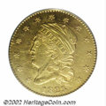 Early Quarter Eagles: , 1825 $2 1/2 AU55 PCGS. Breen-6128, Bass-3021, R.4. One of ...