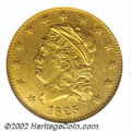 1825/1 $5 --Repaired, Cleaned--ANACS. AU Details, Net VF30. B. 2-A, Miller-149, R.6. All 1825 Half Eagles are overdates...