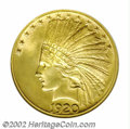 Indian Eagles: , 1920-S $10 MS63 ANACS. Ex: Trompeter. The 1920-S is rarer ...