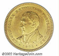 Commemorative Gold: , 1905 $1 Lewis and Clark MS63 PCGS. A lustrous, well ...