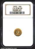 Commemorative Gold: , 1905 $1 Lewis and Clark MS63 NGC. A lustrous, well ...