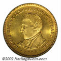 Commemorative Gold: , 1905 $1 Lewis and Clark MS64 PCGS. This is an uncommonly ...