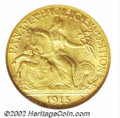 Commemorative Gold: , 1915-S $2 1/2 Panama-Pacific Quarter Eagle MS65 NGC. Both ...