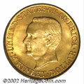 Commemorative Gold: , 1916 $1 McKinley MS66 PCGS. The lovely, reddish-gold ...