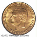 Commemorative Gold: , 1917 $1 McKinley MS67 PCGS. Well struck and lustrous ...