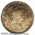 1870 25C Standard Silver Quarter Dollar, Judd-888, Pollock-987, R.5-6, PR66 NGC. Last offered in our Central States Bull...