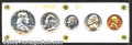 Proof Sets: , 1951 Proof Set. All coins grade PR65-PR67 with delicate ...