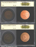 Additional Certified Coins: , 1794 Franklin Press Token XF40 PCI (XF40), Breen-1165, ...