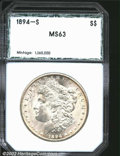 Additional Certified Coins: , 1894-S $1 Dollar MS63 PCI (MS62). A sharply struck and ...