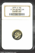 Proof Roosevelt Dimes: , 1979-S 10C Type One PR 69 Deep Cameo NGC. ...