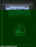 Proof Seated Quarters: , 1891 25C PR 65 Cameo PCGS. The current Coin Dealer ...