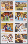 "Movie Posters:Adventure, The Warrior Empress (Columbia, 1960). Lobby Card Set of 8 (11"" X14""). Adventure. Starring Kerwin Mathews, Tina Louise, Enri...(Total: 8 Items)"