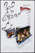 "Movie Posters:Animated, Who Framed Roger Rabbit (Buena Vista, 1988). One Sheet (27"" X 41"").Animated Fantasy. Starring Bob Hoskins, Christopher Lloy..."