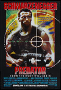 """Movie Posters:Science Fiction, Predator (20th Century Fox, 1987). One Sheet (27"""" X 40""""). Science Fiction Action. Starring Arnold Schwarzenegger, Carl Weath..."""