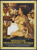 """Movie Posters:Drama, Messalina, Imperatrice et Putain (Les Artistes Associés S.A., 1981). French Poster (31.5"""" X 41.5""""). Drama. Starring Anneka D..."""