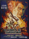 "Movie Posters:War, Flying Leathernecks (RKO, 1951). French Grande (46"" X 62""). War.Starring John Wayne, Robert Ryan, Don Taylor, Janis Carter ..."